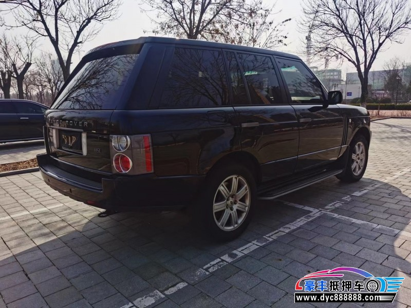 09年路虎揽胜行政SUV抵押车出售