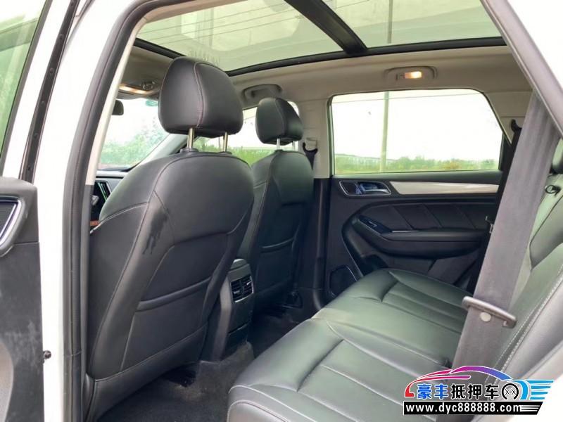 17年荣威RX5轿车抵押车出售