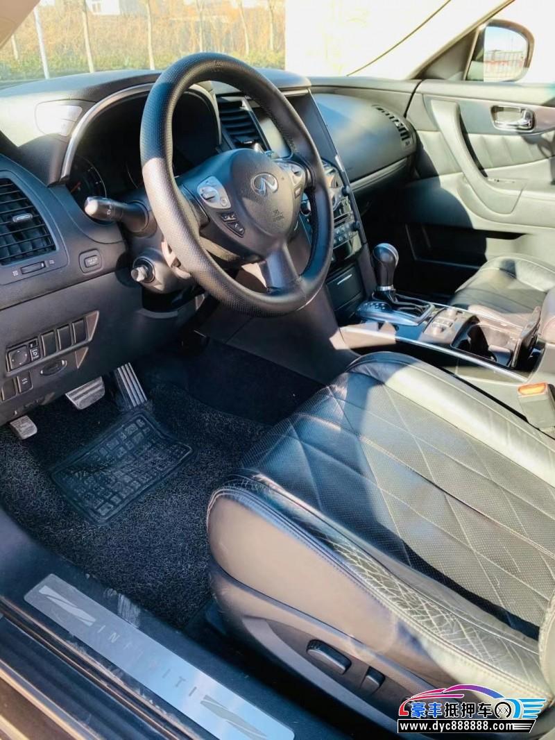 10年英菲尼迪FX35SUV抵押车出售