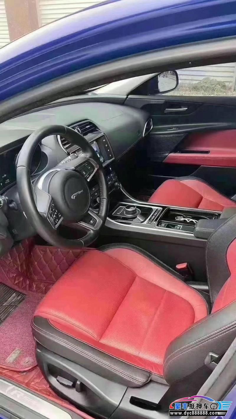 抵押车出售17年捷豹XE轿车
