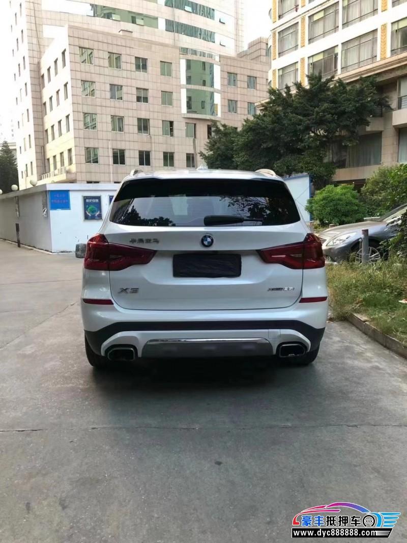 抵押车出售18年宝马X3SUV
