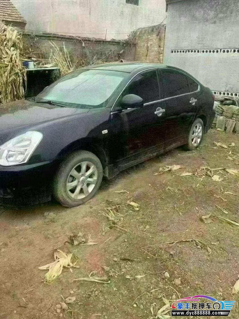 抵押车出售16年日产轩逸轿车