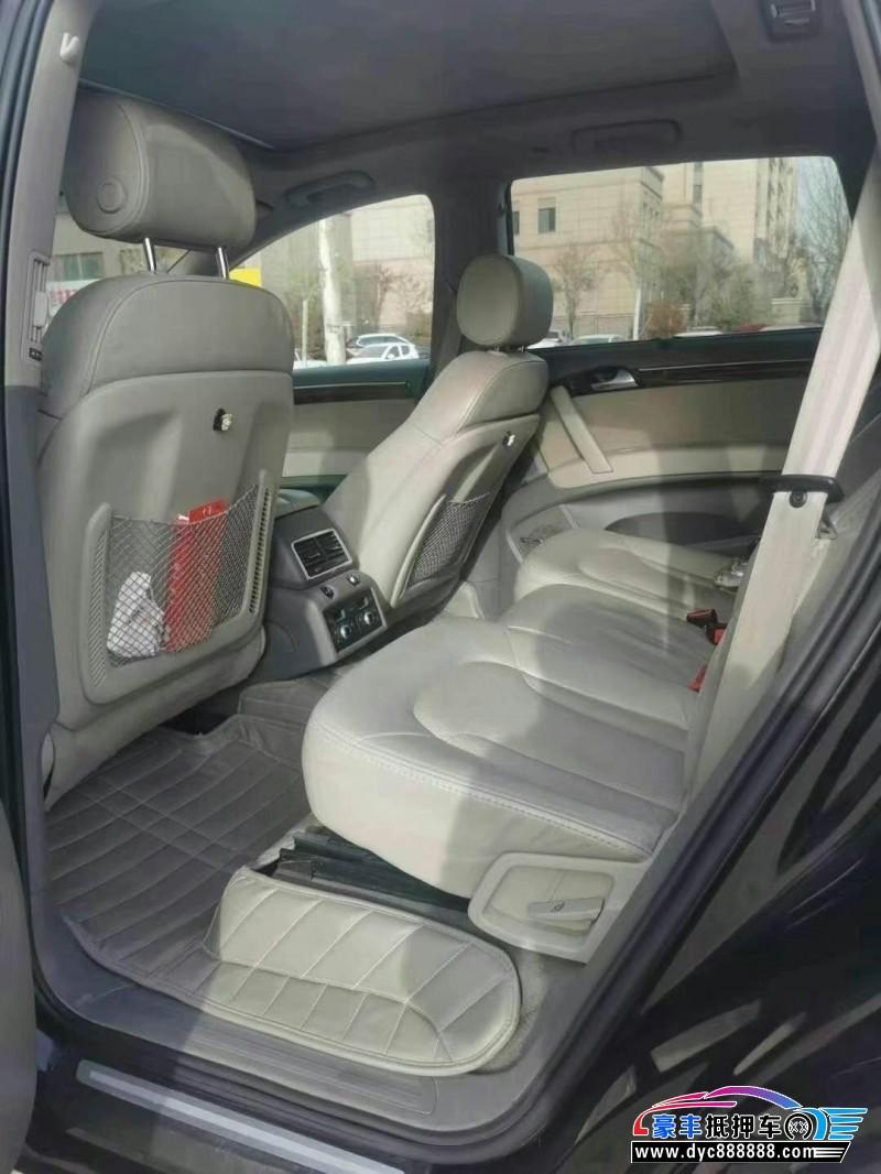 11年奥迪Q7SUV抵押车出售