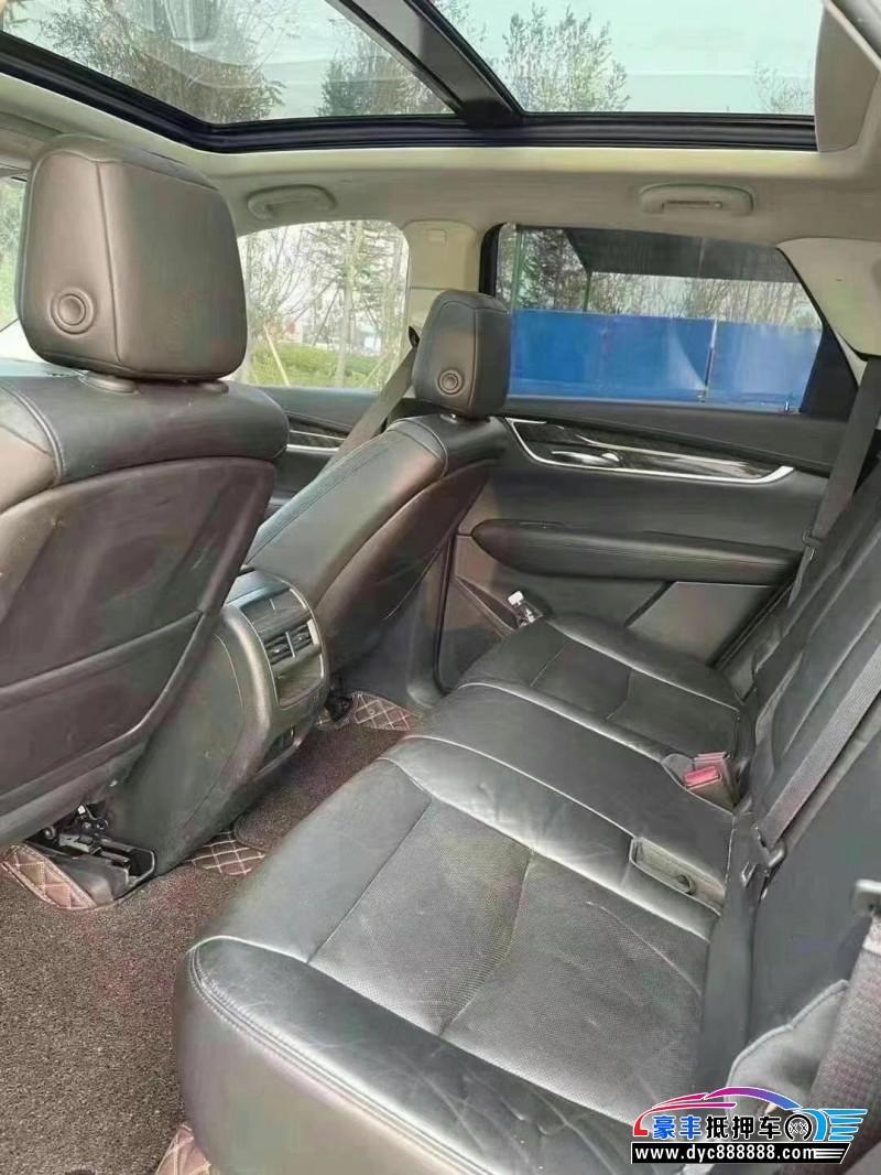 抵押车出售18年凯迪拉克XT5SUV