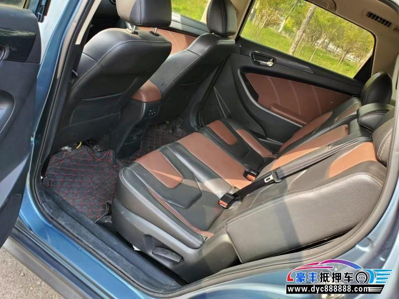 抵押车出售17年东风俊风SUV