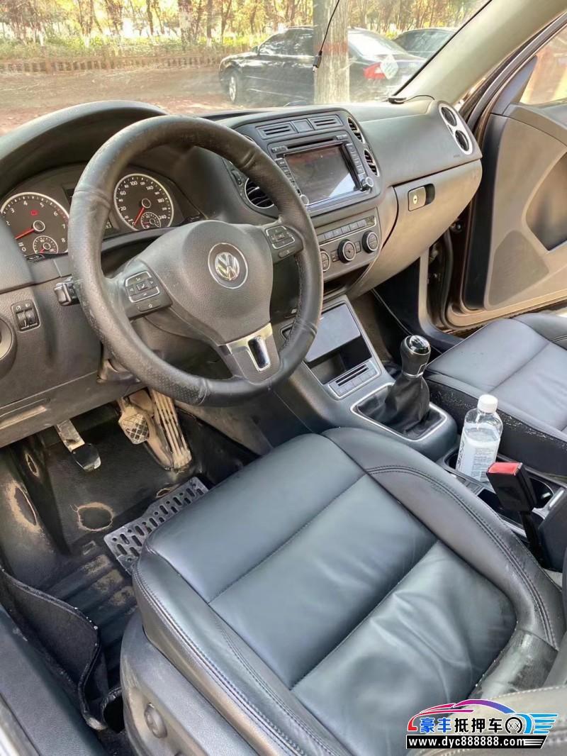 抵押车出售15年大众途观SUV