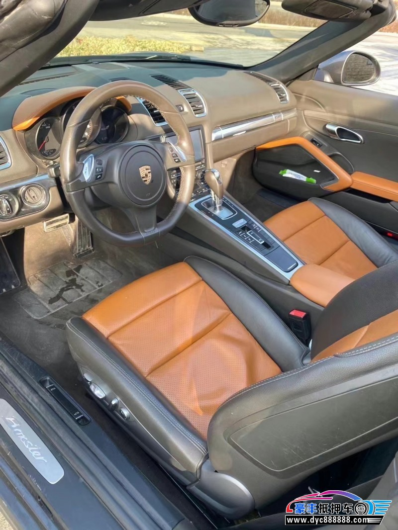 抵押车出售13年保时捷Boxster跑车
