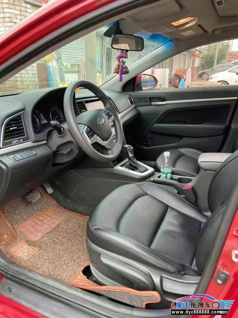 16年现代领动轿车抵押车出售