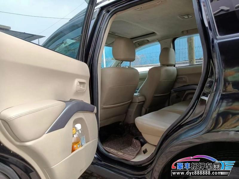 08年三菱欧蓝德SUV抵押车出售