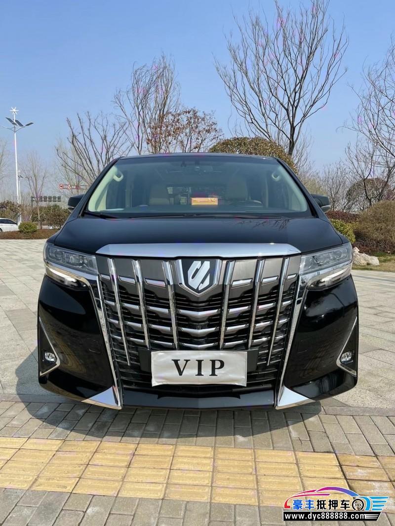 抵押车出售19年丰田埃尔法MPV