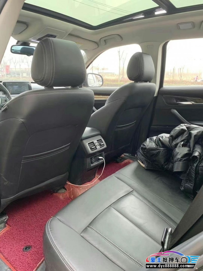 抵押车出售17年汉腾汽车X7SUV