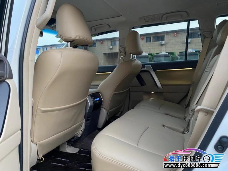 19年丰田普拉多轿车抵押车出售