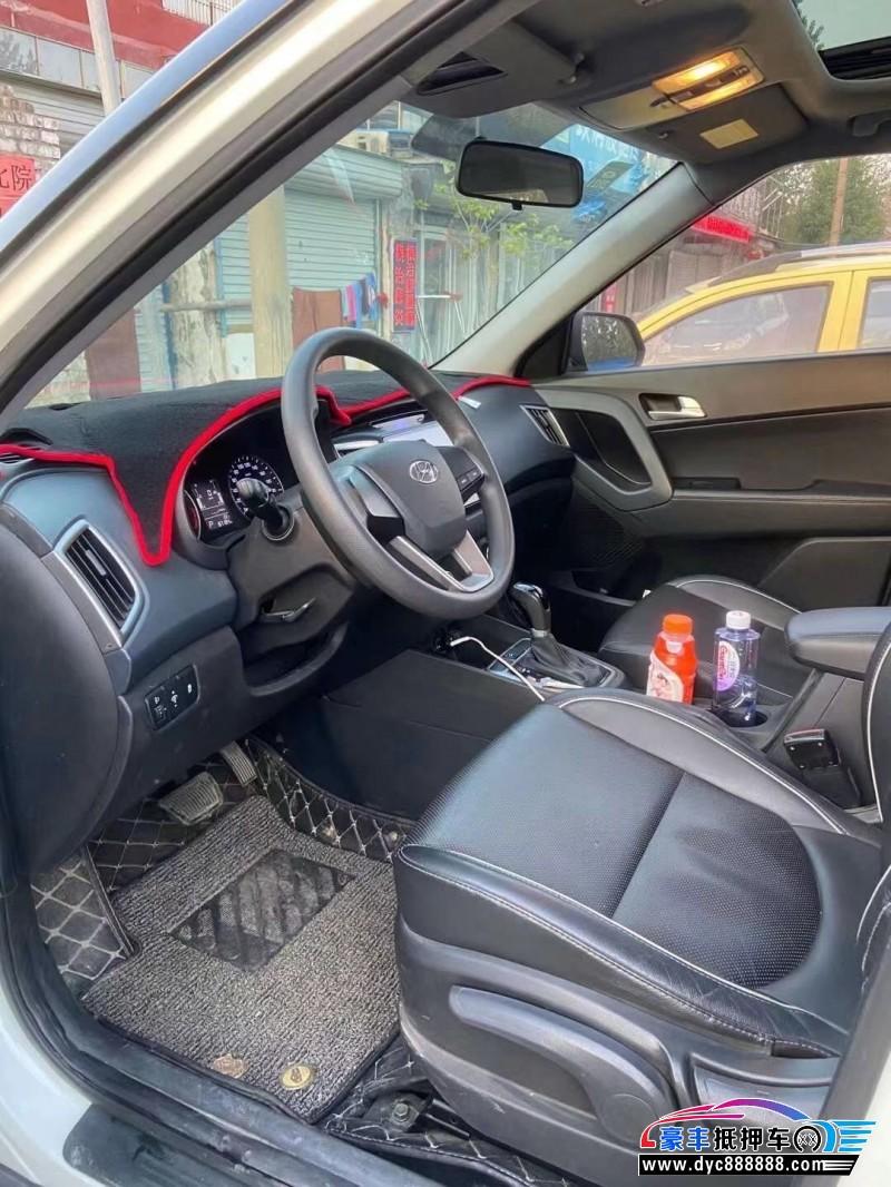 15年现代ix25SUV抵押车出售