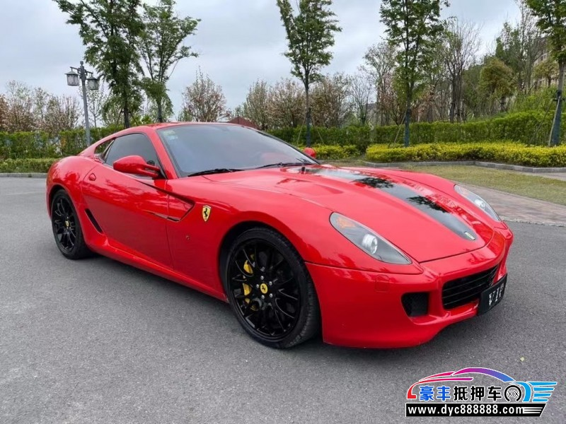 09年法拉利599 GTO跑车抵押车出售