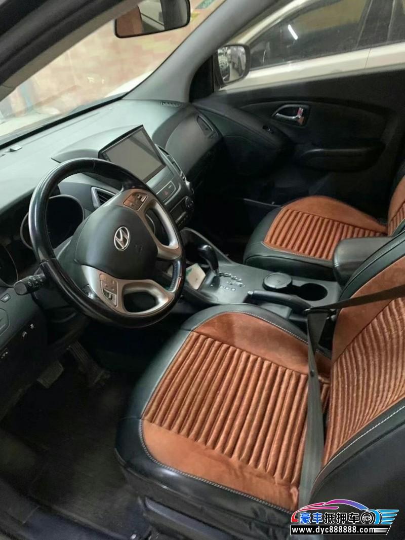 13年现代ix35SUV抵押车出售