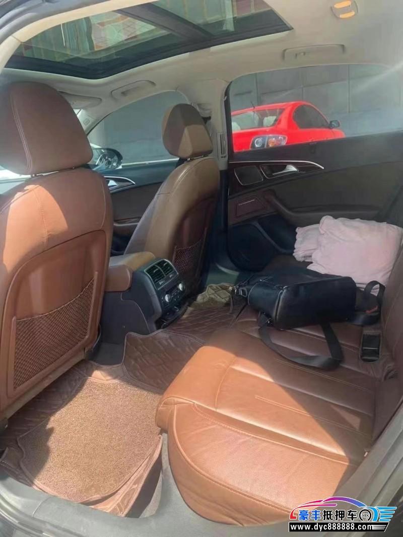 抵押车出售16年奥迪A6L轿车