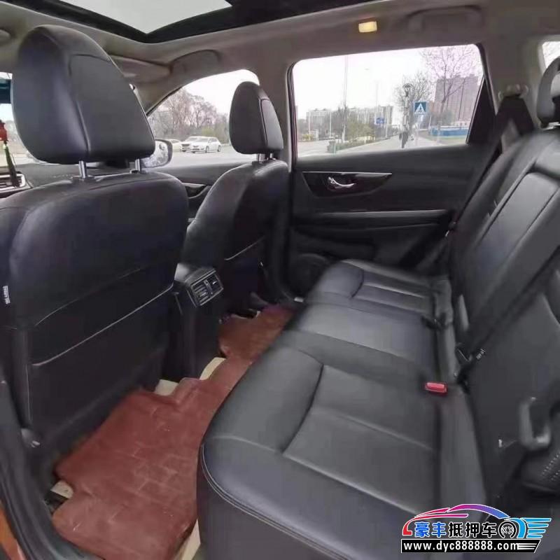 15年日产奇骏SUV抵押车出售