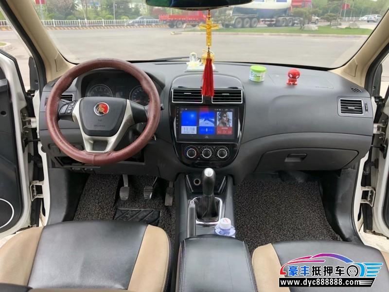 14年东风风行景逸X3SUV抵押车出售