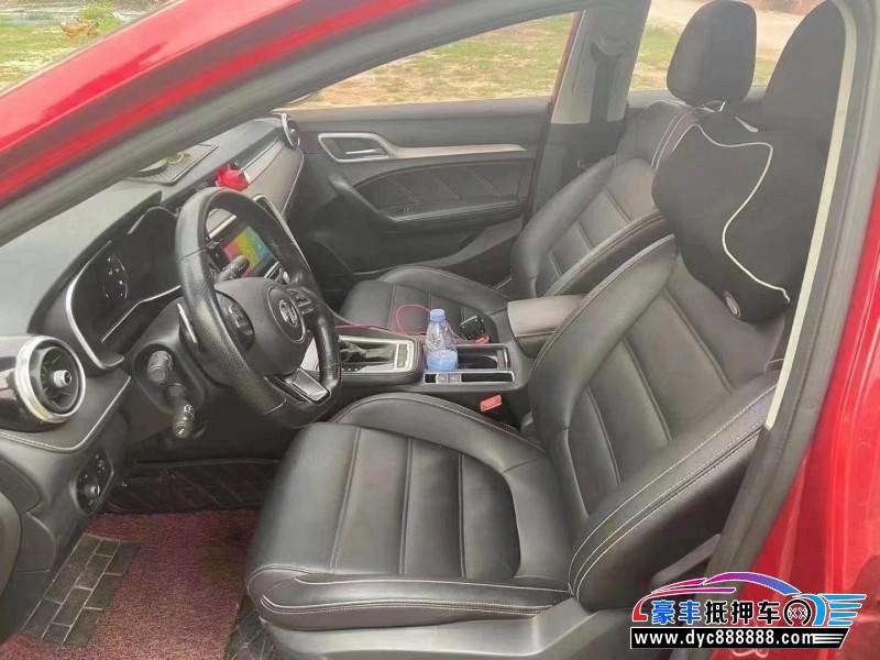 18年名爵GM6轿车抵押车出售