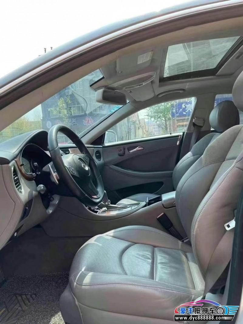 抵押车出售10年奔驰CLS轿车