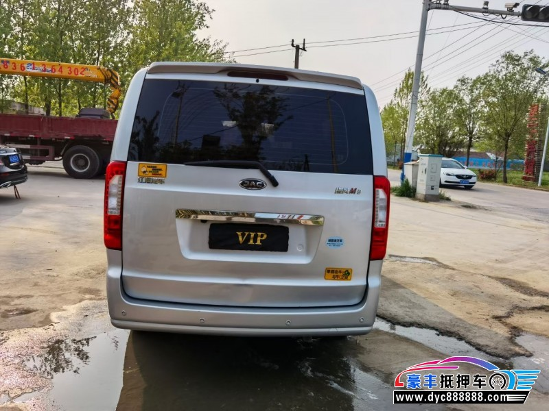 19年江淮瑞风MPV抵押车出售