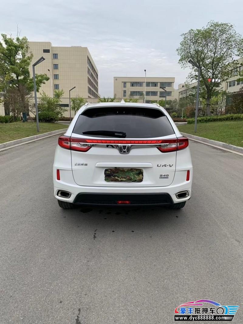 抵押车出售17年本田UR-V轿车