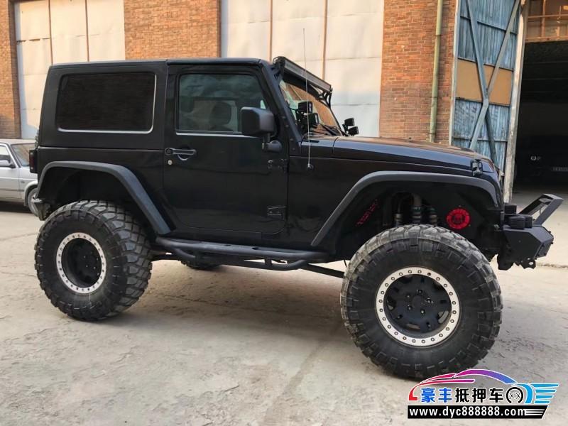 14年Jeep牧马人SUV抵押车出售
