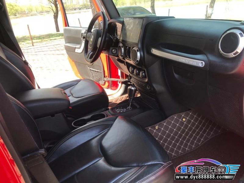 18年Jeep牧马人SUV抵押车出售