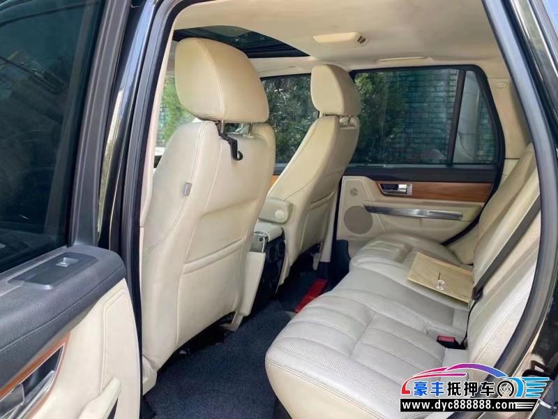 抵押车出售13年路虎揽胜运动SUV