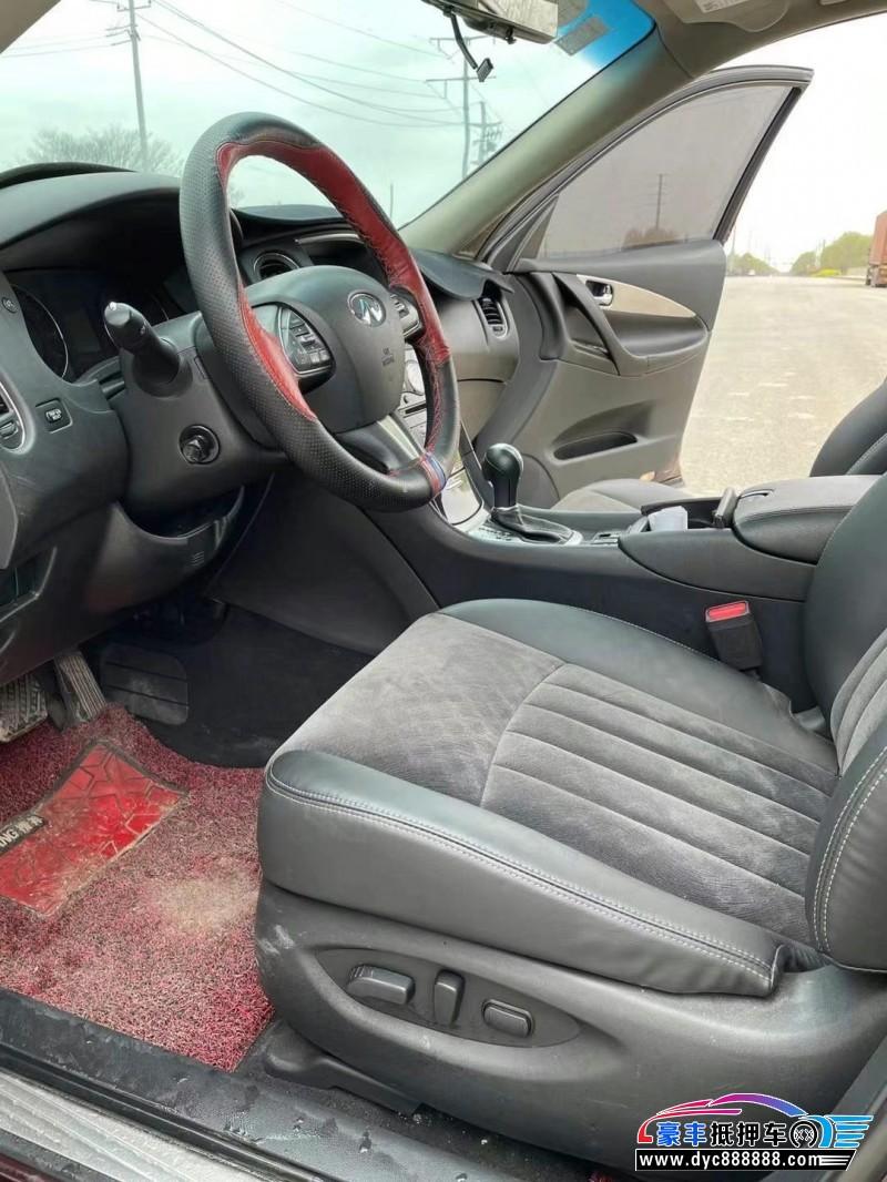 抵押车出售18年英菲尼迪QX50SUV