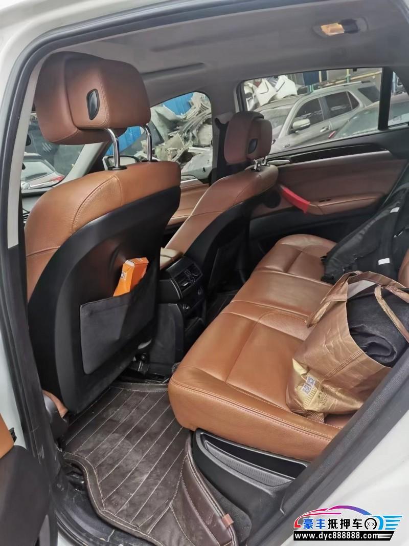 抵押车出售15年宝马X6SUV