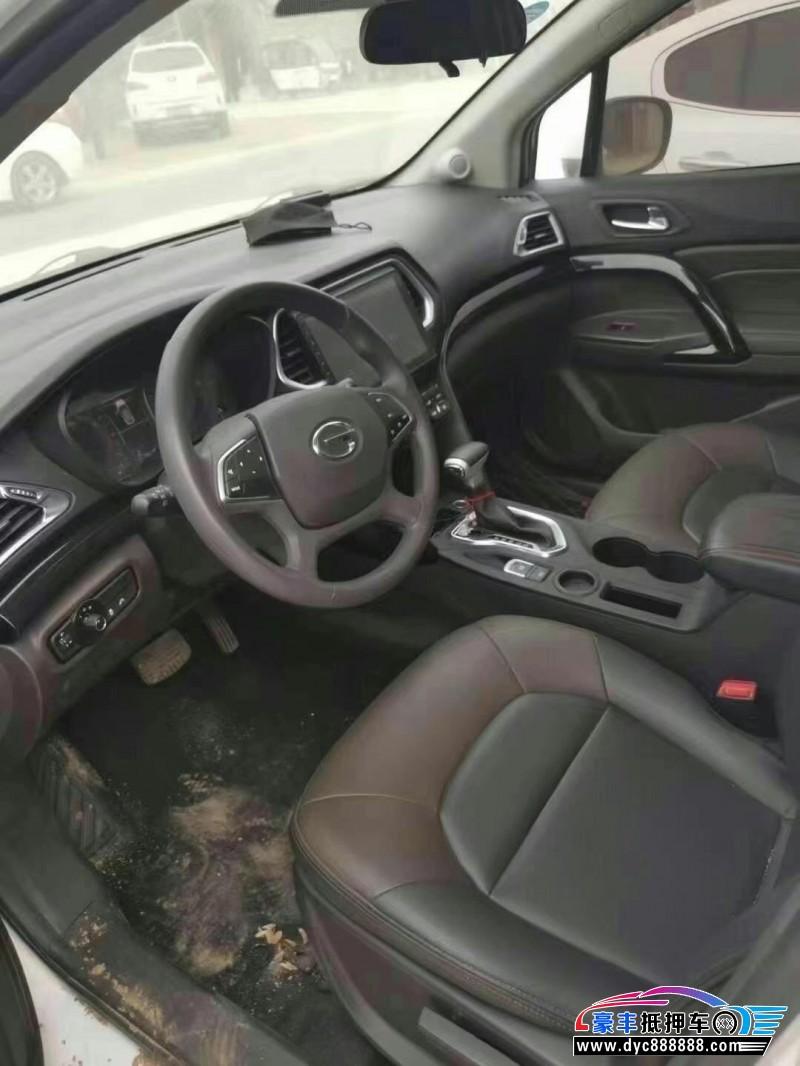 抵押车出售18年传祺GS4SUV