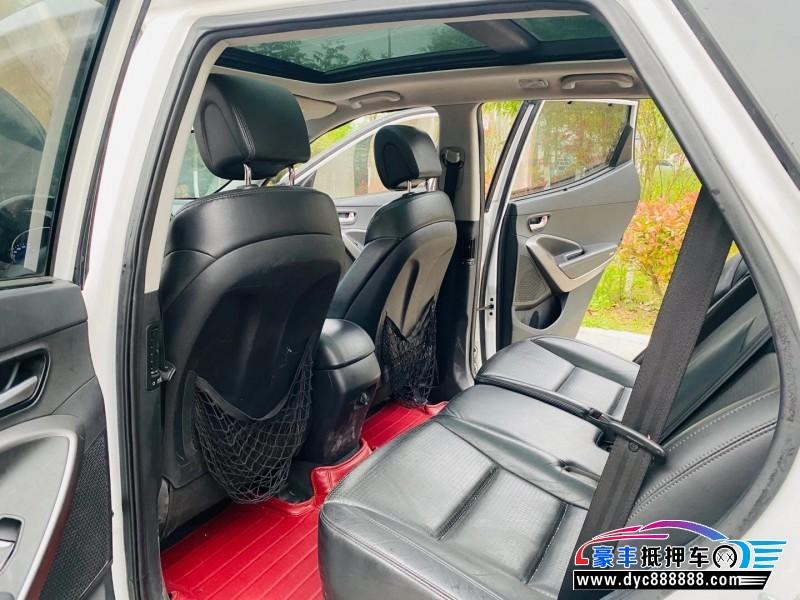 13年现代新胜达SUV抵押车出售