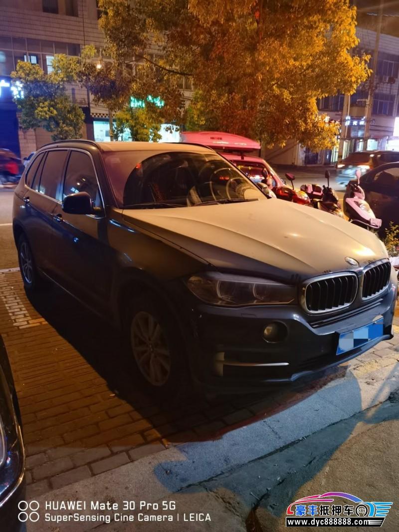 16年宝马X5SUV抵押车出售
