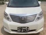 抵押车出售13年丰田埃尔法MPV