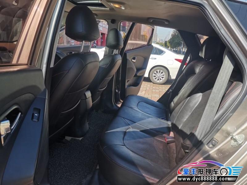 抵押车出售15年现代ix35SUV