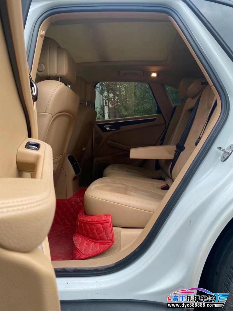 抵押车出售15年保时捷Macan迈凯SUV
