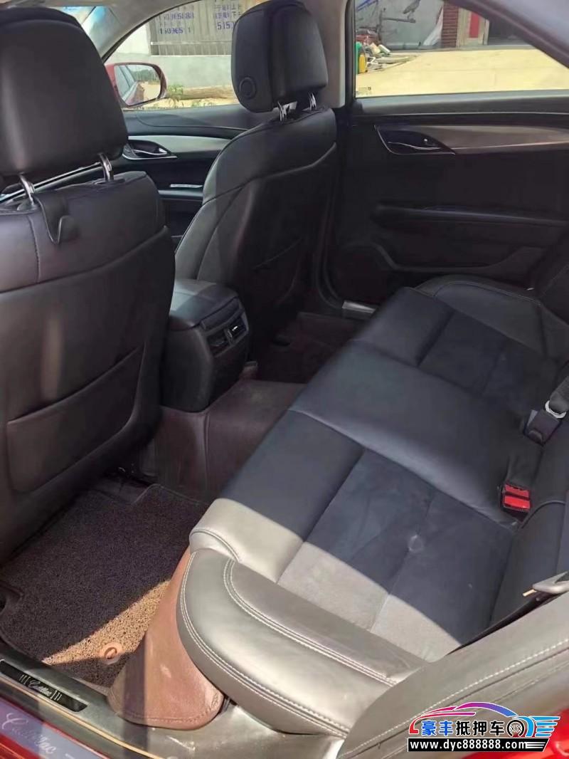 15年凯迪拉克ATS-L轿车抵押车出售