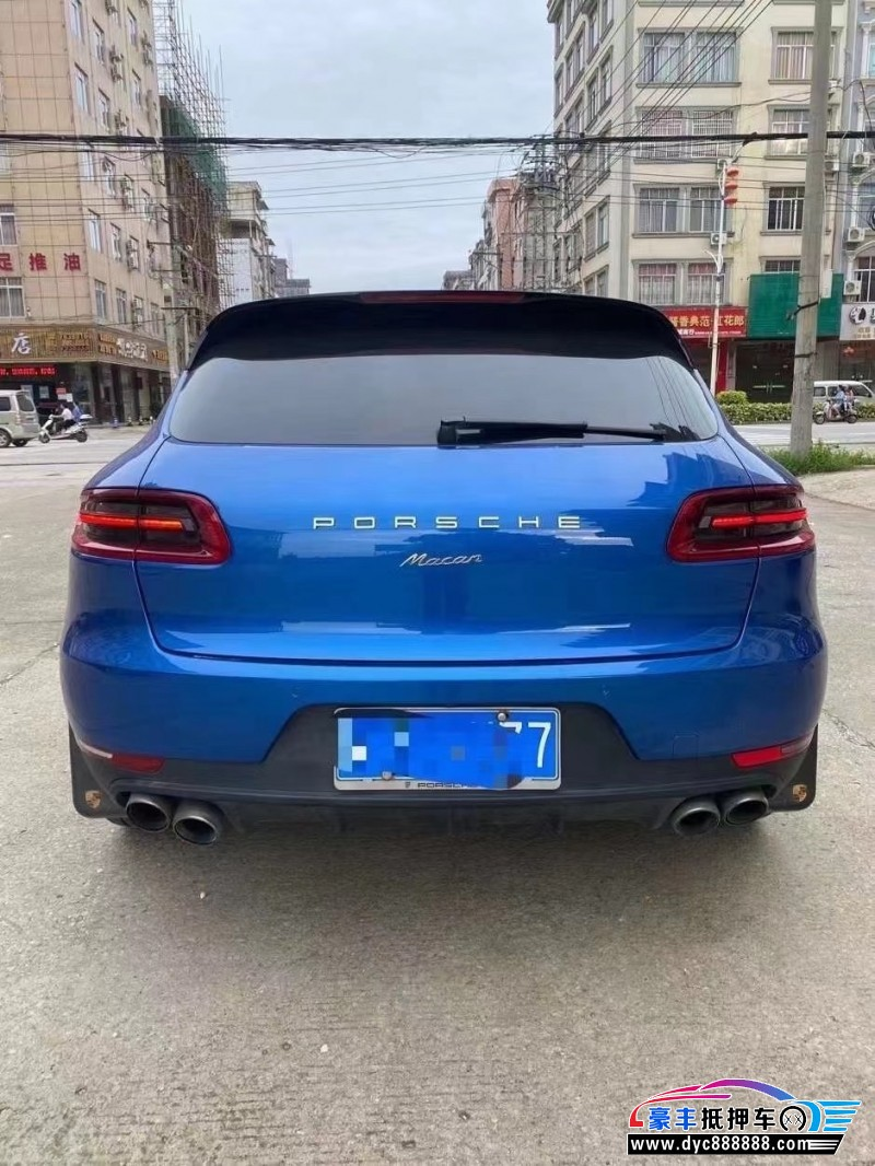 抵押车出售16年保时捷Macan迈凯SUV