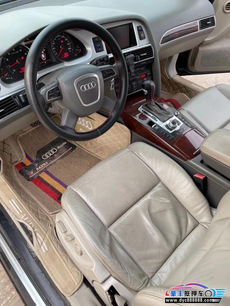 10年奥迪A6L轿车抵押车出售