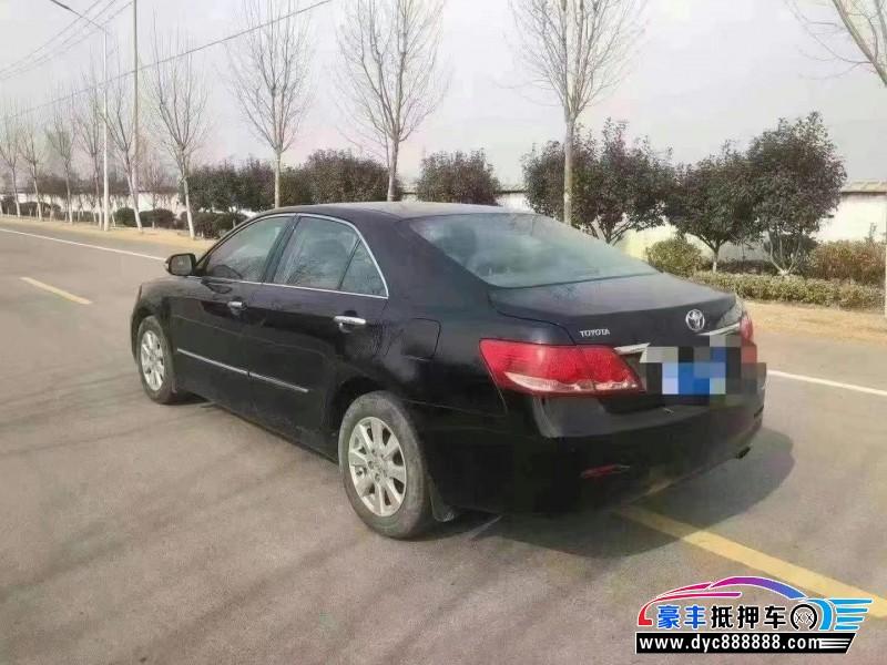 08年丰田凯美瑞轿车抵押车出售