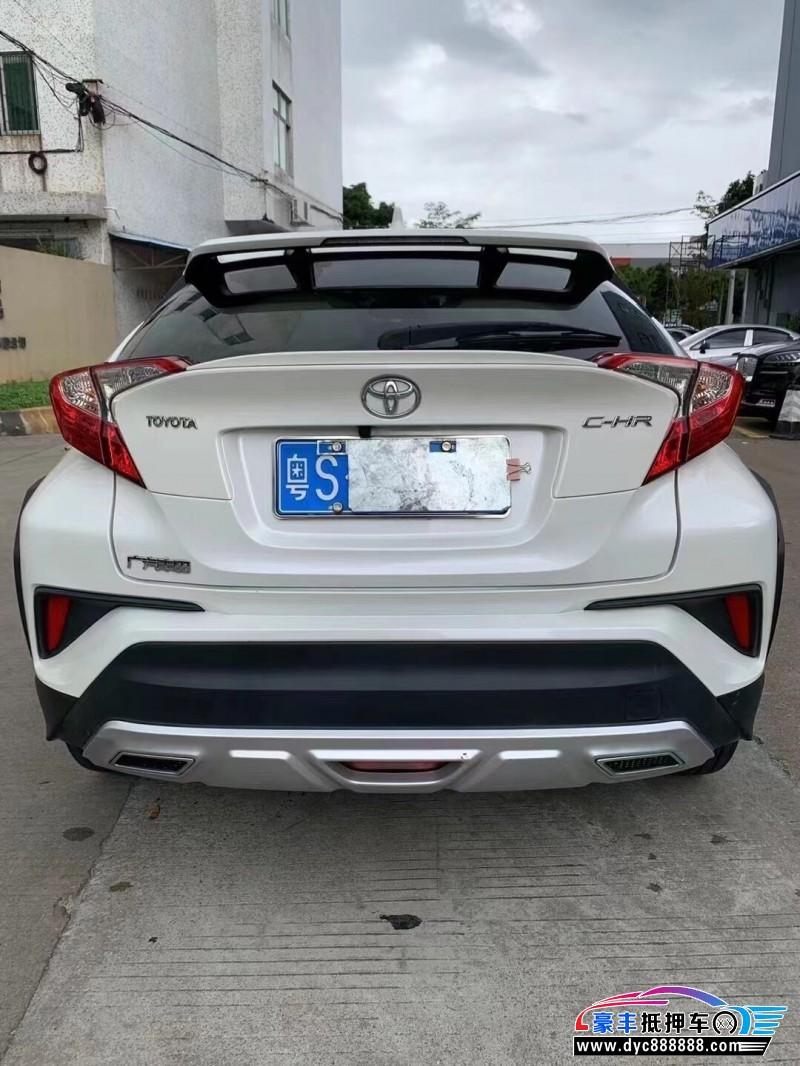 19年丰田C-HR轿车抵押车出售