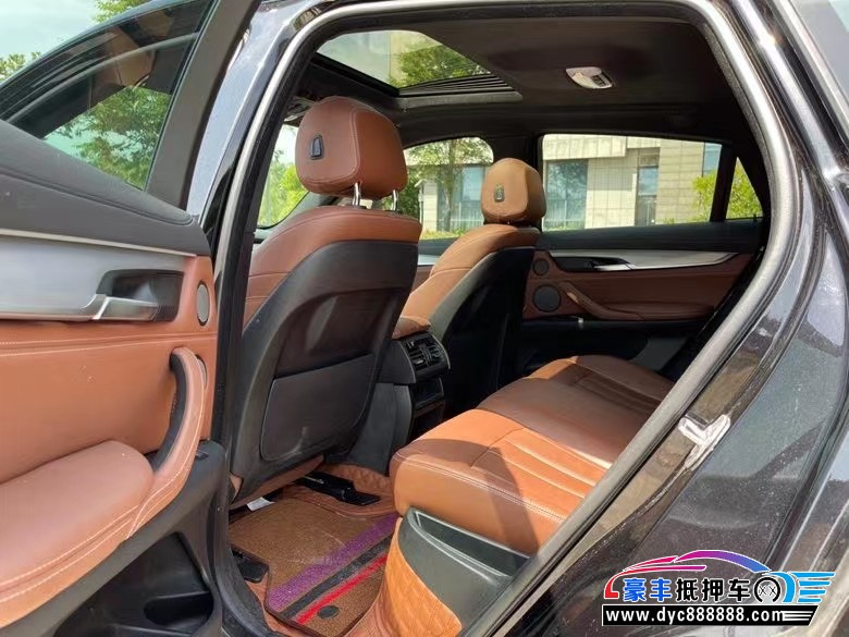 19年宝马X6轿车抵押车出售