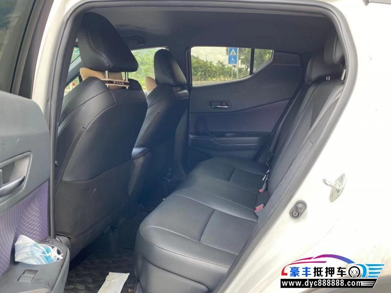 20年丰田奕泽SUV抵押车出售