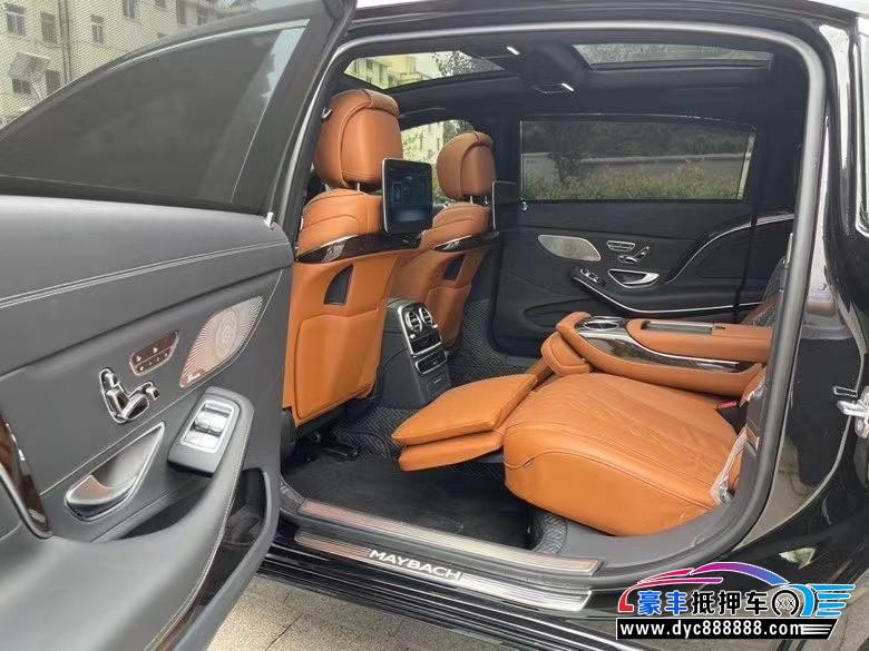 抵押车出售20年奔驰迈巴赫S级轿车