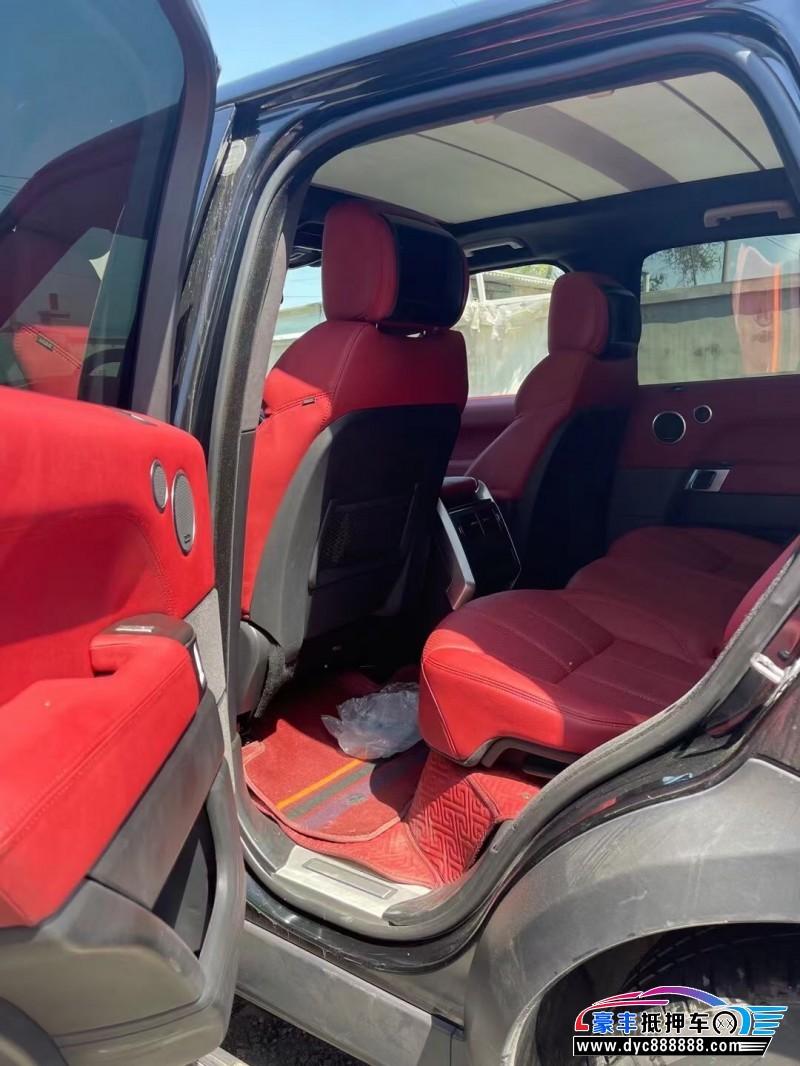 21年路虎揽胜运动版SUV抵押车出售