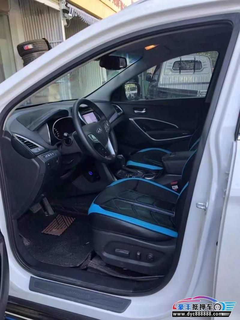 抵押车出售19年现代新胜达SUV