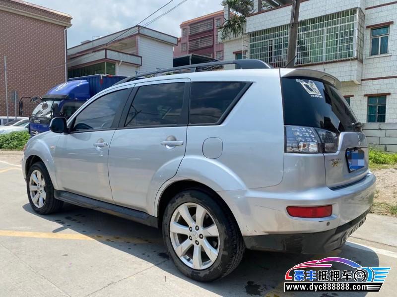 12年三菱欧蓝德SUV抵押车出售