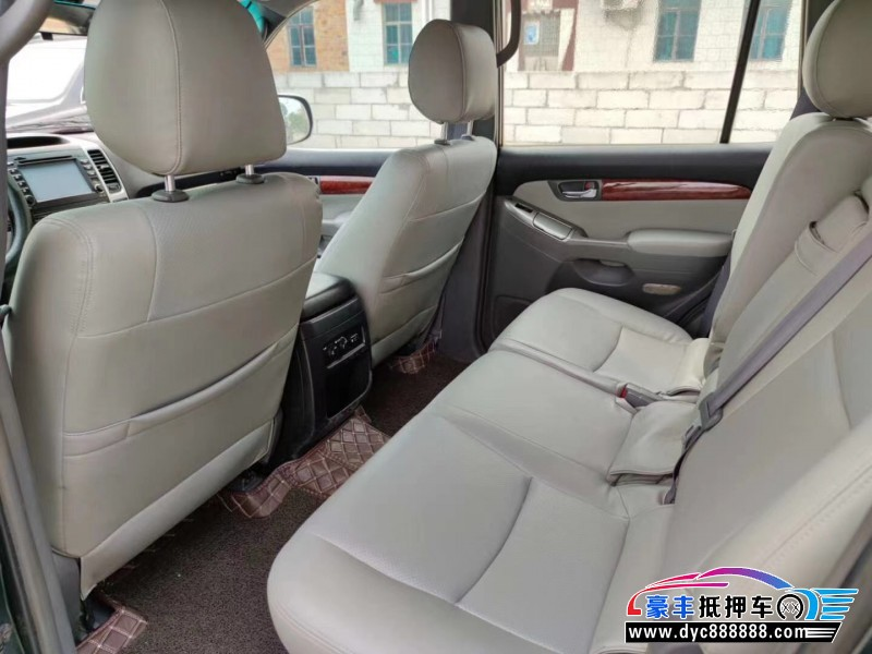 抵押车出售09年丰田普拉多SUV