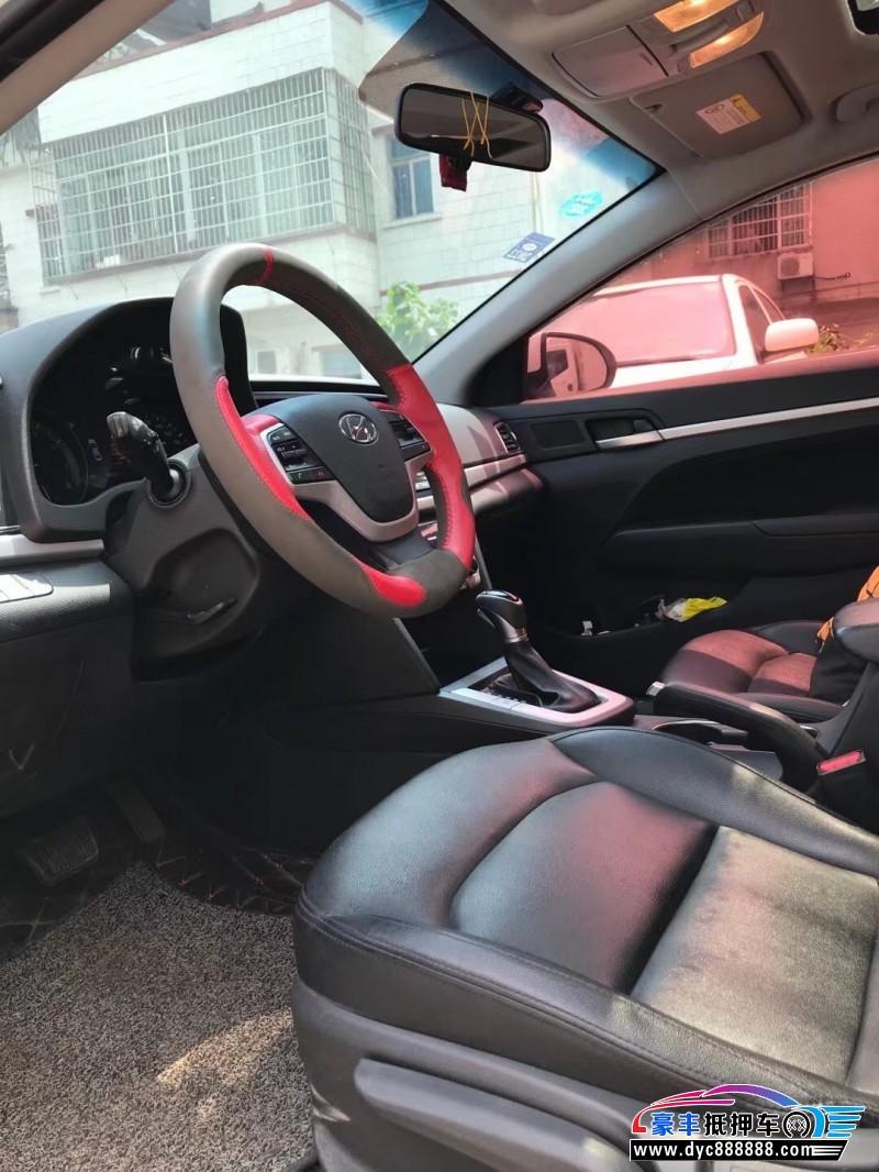 18年现代领动轿车抵押车出售